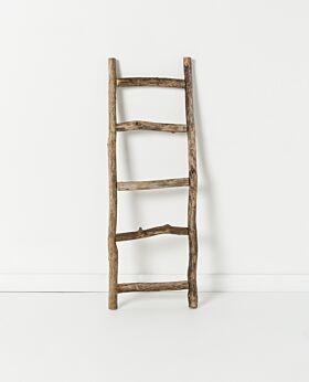 Holiday ladder - driftwood