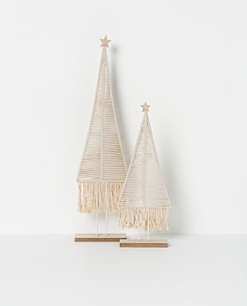 Holiday standing rope tree