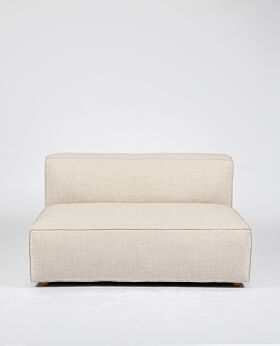 Hudson II 2 seat extension seat - oat