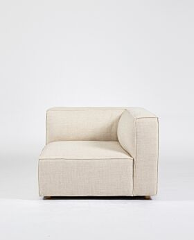 Hudson II corner seat - oat