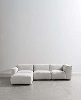 Hudson modular sofa - pearl grey