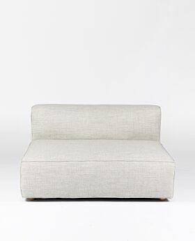 Hudson II 2 seat extension - ghost gum