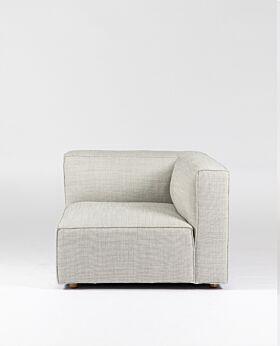 Hudson II corner seat - ghost gum