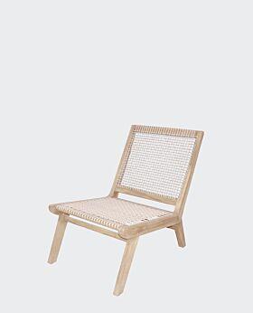 Island teak occasional chair