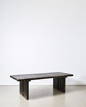 Ivanne dining table - black