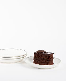 Kaspian Cake Plate - Set of 4
