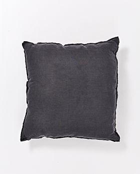 Keira linen euro cushion - slate