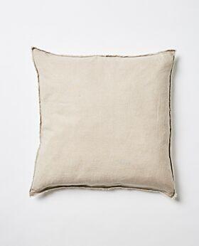 Keira linen euro cushion - wheat