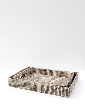 Kori seagrass tray rectangular