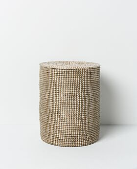 Kori seagrass laundry basket