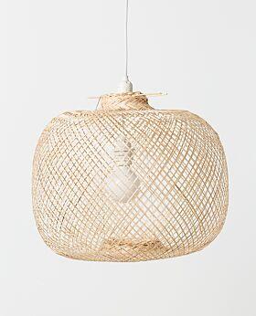 Laki bamboo pendant shade - natural