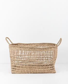 Lally woven basket rectangular - medium