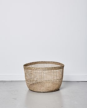 Lally woven basket no handle - large