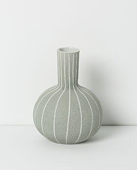 Leila ceramic bud vase- pebble