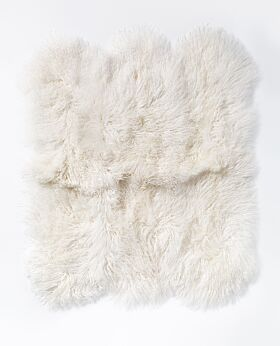Lina lambswool large hide - ivory