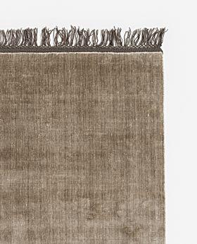 Loom rug beige - large