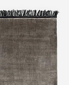 Loom rug grey - large