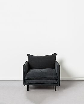 Lucas armchair - black
