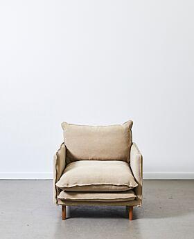 Lucas armchair - linen
