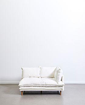 Lucas corner piece right facing - white