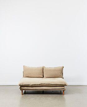 Lucas sofa armless - linen
