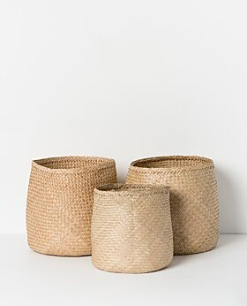 Lulu seagrass basket - natural