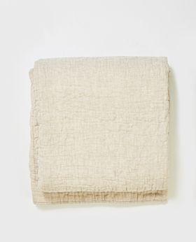 Lysandra quilt queen/king - natural linen