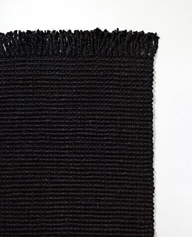Mallee rug - black