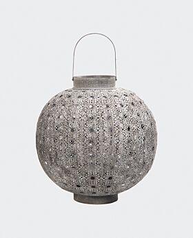 Marakesh round lantern - large