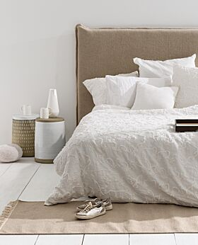 Marcus bedhead - linen