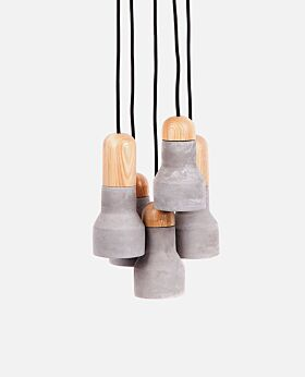 Mona pendant - 5 lights each