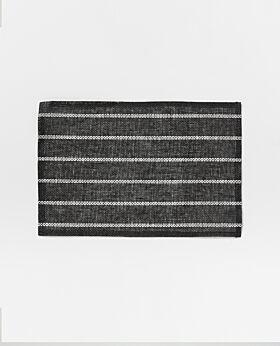 Nagano paper placemat - black