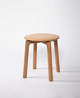 Noah oak stool - natural