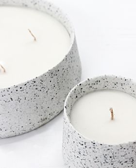 Note 4 wick citronella candle - large