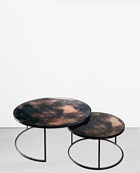 Notre Monde nesting coffee table set - bronze