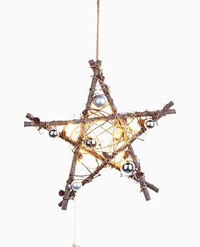 Nutcracker LED star - small