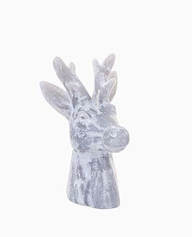 Nutcracker reindeer wax candle - med