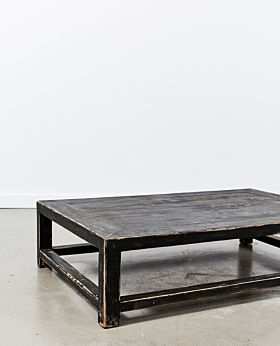 Ombra coffee table - small - black