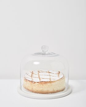 Ostuni cake dome with marble base
