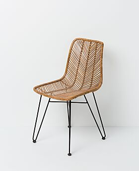 Parker dining chair pale - honey