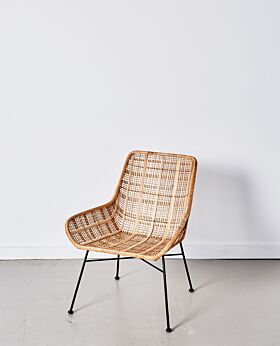 Parker occasional chair lattice - natural
