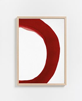 PAPER COLLECTIVE Enso Red 02 print