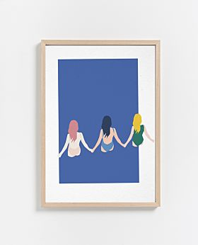 PAPER COLLECTIVE Girls print