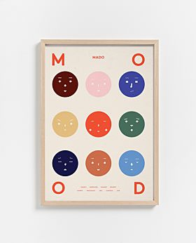 PAPER COLLECTIVE Nine Moods print
