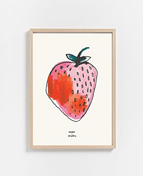 PAPER COLLECTIVE Strawberry print