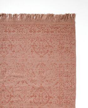 Pernille wool rug - vintage rose