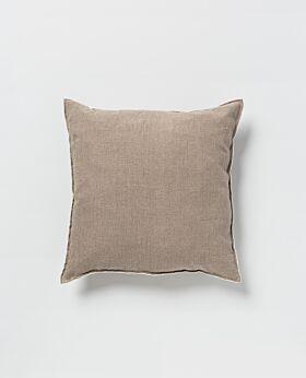 Piama linen cushion - natural
