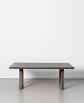 Pierre rectangular dining table - small