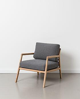 Rae armchair - smoke