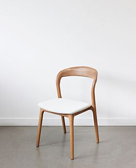 Raglan dining chair oak - dove